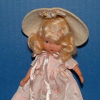 Nancy Ann Storybook Doll #119 Mistress Mary, Quite Contrary