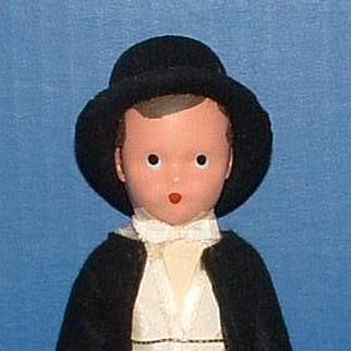 Nancy Ann Storybook Doll #88 Hard Plastic Groom