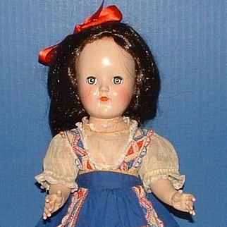 """Ideal 14"""" Toni Doll in Original Dress"""