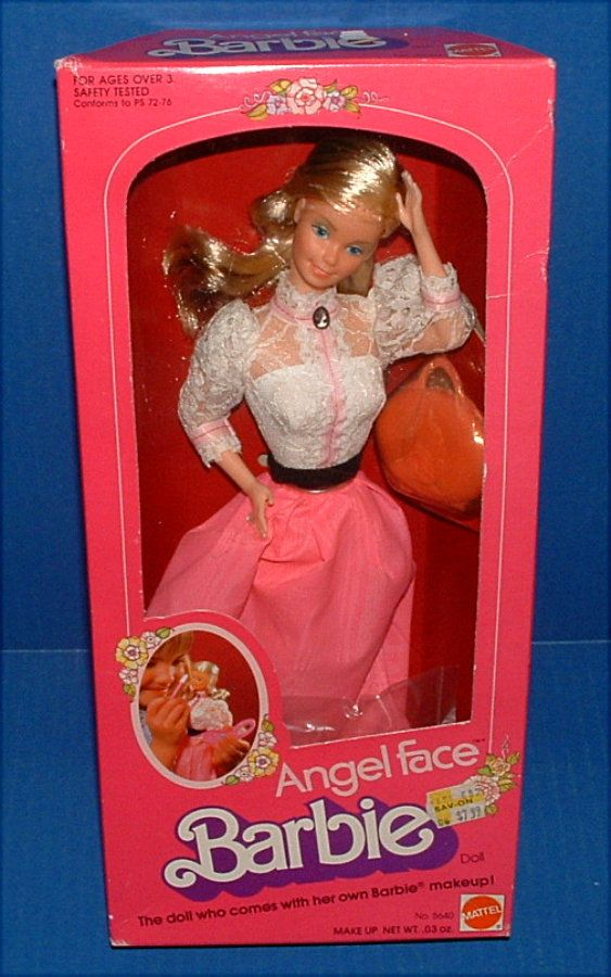 NRFB Angel Face Barbie Doll