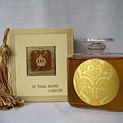 Vintage 2.5 Oz Bottle of CARON *  Paris * TABAC BLOND * MINT in Box * Sealed