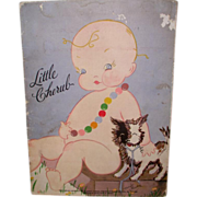 Rare LITTLE CHERUB Book by Harriet Flanders