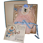 1930's MIB Molly-'es Original Tagged Shirley Temple Baby Dress / Effanbee Dy-Dee