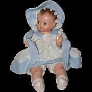 "RARE 15"" Effanbee Patsy Babykin 1930's Toddler Baby -- RARE Composition and Cloth"