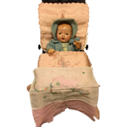 SUPER RARE Original Dy-Dee Doll BUGGY -- Page 92 of Reference Book