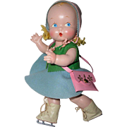"Harriet Flanders 1937 Compo 12"" LITTLE CHERUB Baby -- Perfection! - Red Tag Sale Item"
