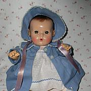 """Vintage NEAR MINT 15"""" Dy-Dee Doll - MOLD 2 w/ Original Layette"""