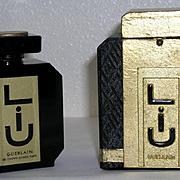 XXL Size Vintage Baccarat Guerlain LIU Perfume 125 ml / 4.2 Oz in Flacon Tabatiere