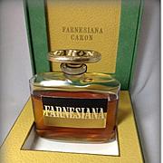 RARE Vintage 1940s Farnesiana by Caron Parfum -- 2.12 Fl Oz -- SEALED in Box