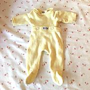 "1950s NITEY NITE Doll Pajamas - 13.5"" - 15"" Dy-Dee Tiny Tears -- Sunny YELLOW"