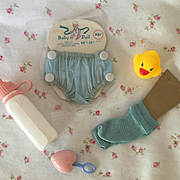 """Darling BABY Basics for 11"""" Tiny Tears / Dy-Dee Baby Dolls - Blue"""