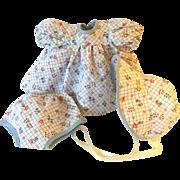 "SUPER CUTE 11"" Tiny Tears Outfit -- Rare Extra Dress Set"