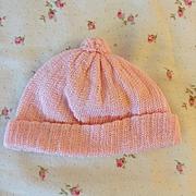 MINT Knit Cap for Tiny Tears Baby Dolls