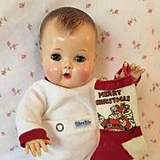 VERY RARE Christmas Snowy White Nitey Nite Pajamas for Tiny Tears / DY-DEE