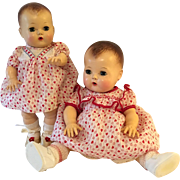"""""""Red, White & Blue and I Love You"""" ...Still -- 13.5"""" Tiny Tears doll"""