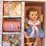 """RARE 15"""" Effanbee Dy-Dee Jane MINT in Box"""