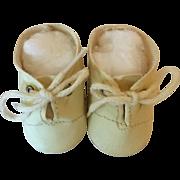 Original MINT White Tiny Tears Oilcloth Shoes #2