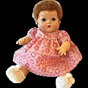 """Effanbee TWIN Series -- 15"""" Dy-Dee Pink Flowered Dress #1"""