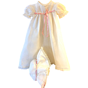 "Effanbee TWIN Series -- 15"" Dy-Dee Christening Gown Set - #2"