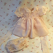 "Exquisite Pink Party Dress / Panties for your 13.5"" Tiny Tears Baby"