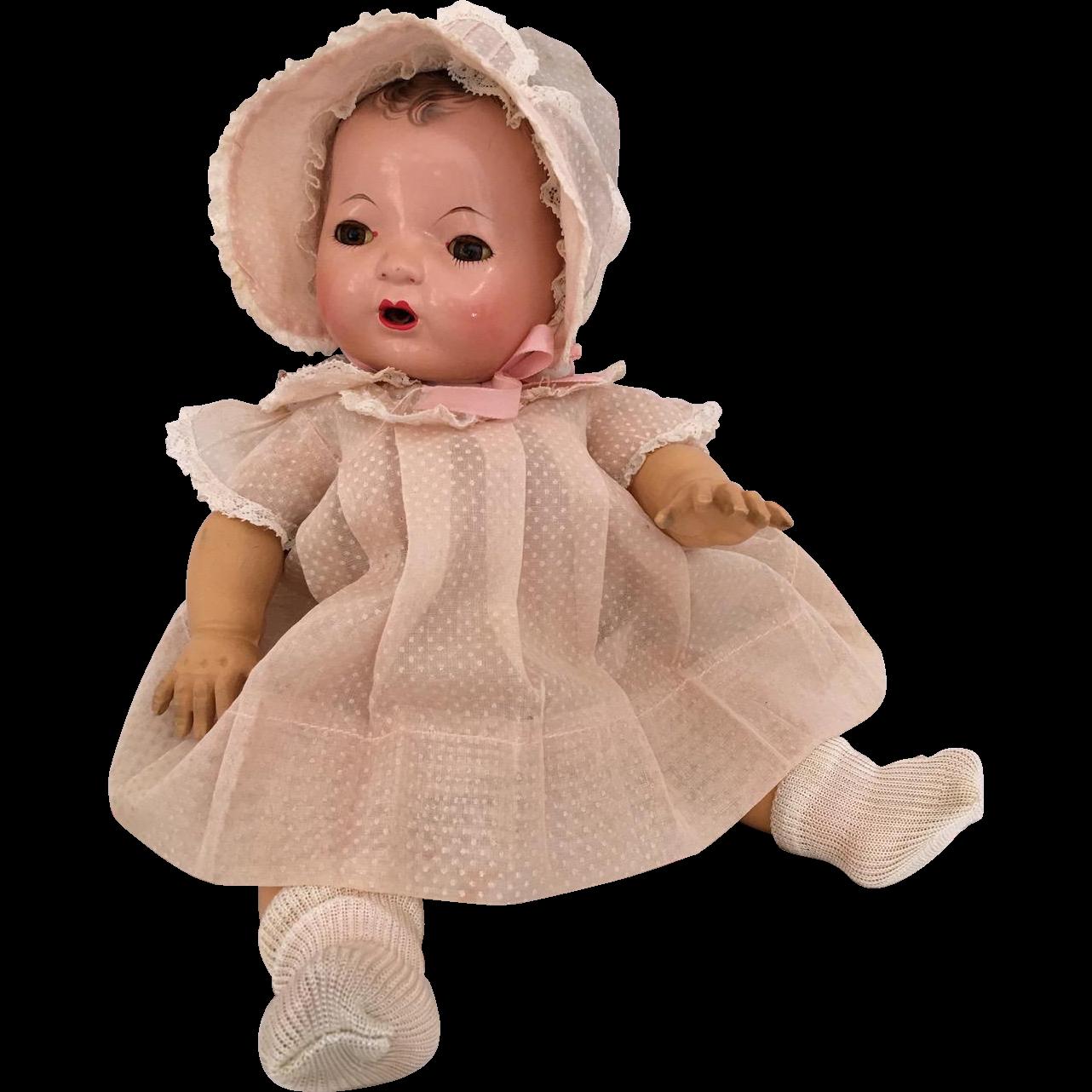 Effanbee 13 Quot Dy Dee Kin 1930 S Factory Pink Dot Dress Set