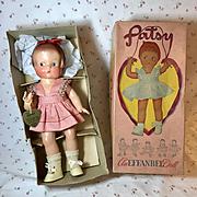 "1946 Effanbee 14"" PATSY Doll -- ALL ORIGINAL in Display Box"