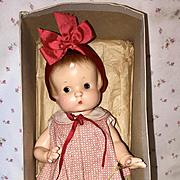 Vintage 1920's Effanbee Pat. Pending Patsy in EARLY Box