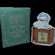 XXL Vintage Quadrilobe Guerlain LIU Extrait Perfume 250 ml / 8.4 Oz in Box
