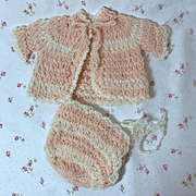 "Effanbee Factory Original 11"" to 13"" Dy-Dee Layette Sweater SET"