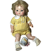 "18"" Effanbee 1940's BABY BRIGHT EYES - All Original w/Hang Tag -- It's a BOY !!"