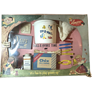 Vintage 1940's AMSCO Toys Doll DYDEE TIME Boxed Nursery Set - Complete