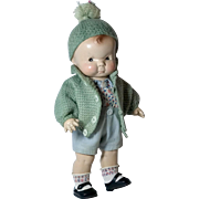 Rare American Character Factory Original Puggy Composition Doll