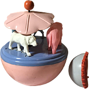 Circus MERRY-GO-ROUND ! Effanbee Dy-Dee Baby Christmas Toys !