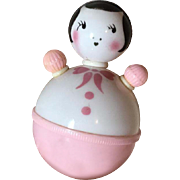 RARE 1940's Roly Poly Doll Toy ~ Effanbee Dy-Dee Baby Christmas Toys !
