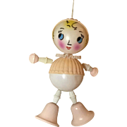 Adorable Celluloid GIRL TOY For Effanbee Dy-Dee
