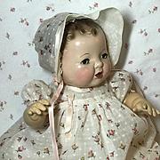 """Effanbee 15"""" Dy-Dee Jane ROSEBUD Dress and Bonnet Set"""