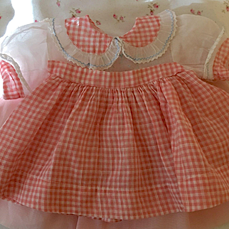 "Vintage Very ""RARE"" Effanbee Dy-Dee Lou Dress"