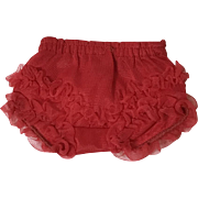 """VALENTINE RED Fancy Pants Underpants for 13.5"""" Tiny Tears"""