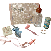 Vintage Original Effanbee Dy-Dee Layette Accessories