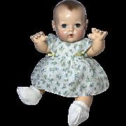 Effanbee Dy-Dee Jane Dimity Dress -- Easter Flowers