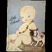 Super Rare * 1937 LITTLE CHERUB Book by Harriet Flanders -- Original  NOT a COPY