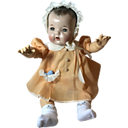 "Vintage Effanbee Molly'es Dy-Dee doll Lou Dress, Socks & bonnet for your 20"" Doll"