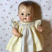 "Yellow Sun Dress for 13.5"" Tiny Tears and Friends"