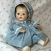 "13.5"" Tiny Tears Coat / Bonnet / Dress for Spring"