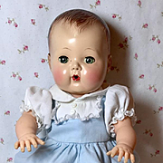 """Tiny Tears Blue Sunsuit for 13.5"""" Baby"""