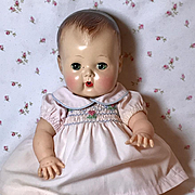 """Baby Pink and Smocking w/ Embroidery for 13.5"""" Tiny Tears Baby"""