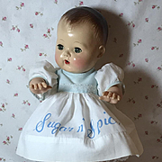 """Sugar and Spice DRESS for 13.5"""" Tiny Tears and Friends"""