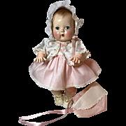 """Beautiful 13.5"""" Tiny Tears Baby 1950's"""