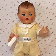 """1953 Vintage 21"""" Little Ricky Jr Doll by American Character * All Original * Beautiful Boy!"""