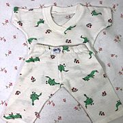 """1950's Nitey Nite Pajamas for 13"""" to 14"""" Tiny Tears and Friends"""